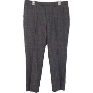 Banana Republic Standard Fit Wool Trousers 33/30